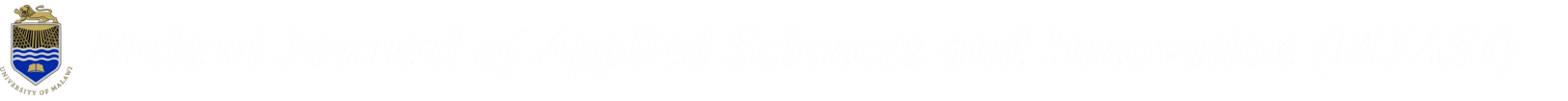 Malawi Journal of Applied Sciences Logo